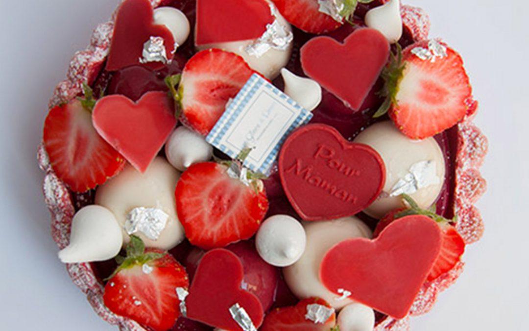 Une « Charlotte Glacée aux fruits rouges » pour fêter le mamans !