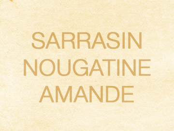sarrasinnougatine